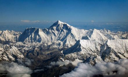 Four Sherpa climbers attempting a rare winter ascent of Everest