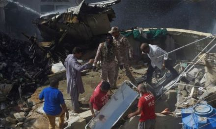 Pakistan International Airlines passenger plane crashes in Karachi