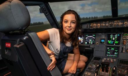 world's youngest in the aviation industry