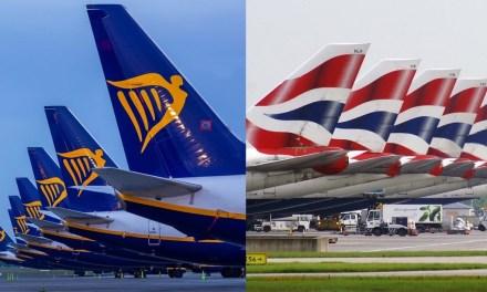 British watchdog takes legal action against British Airways and Ryanair