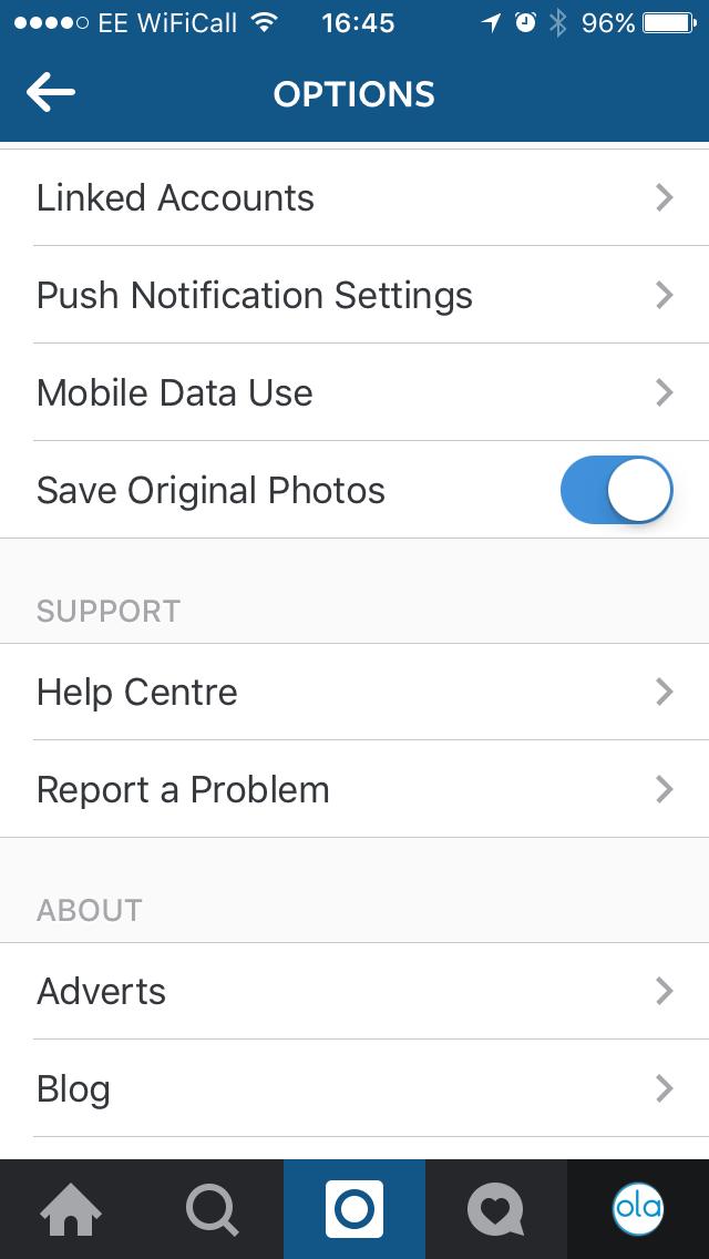 Instagram Linked Accounts