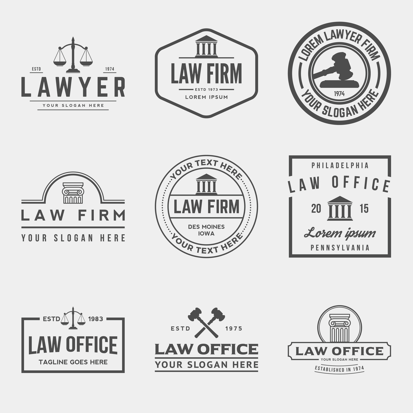 4 Elements To Include In An Attorney Logo Design Online