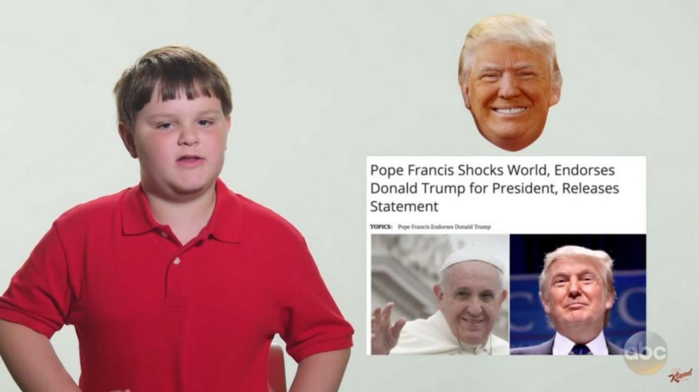 Fake News, Noah, President Donald Trump, Jimmy Kimmel, Donald Trump, President, Explanation