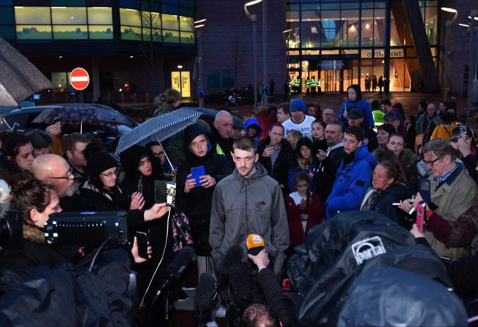 Tom Evans, Alfie Evans, Hospital on lockdown
