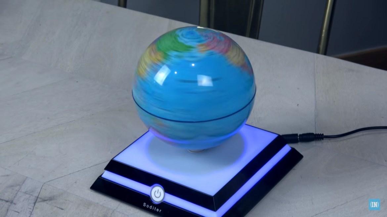Levitating Globe, What's Inside, YouTube, Channel, Globe, Magnetic