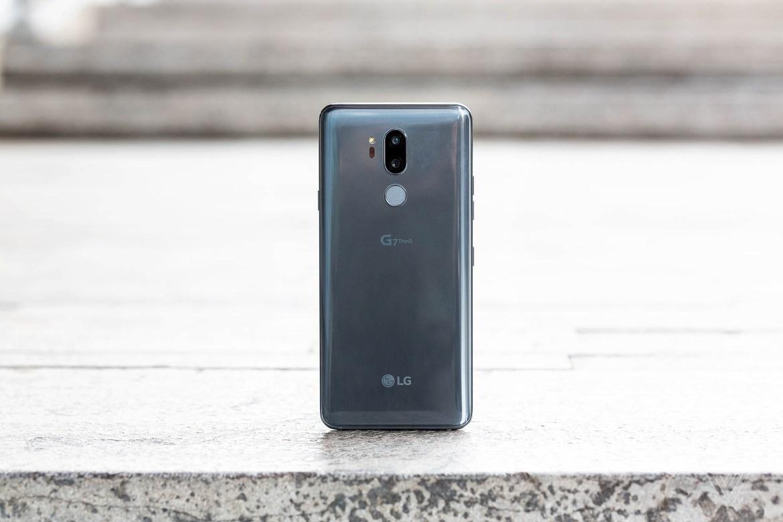 LG G7 ThinQ, Glass Back, Back, Glass, LG, G7