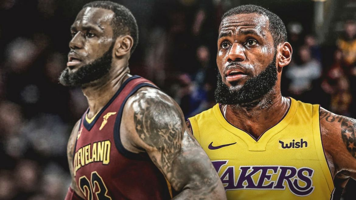 LeBron James left his hometown Cleveland Cavaliers to sign long-term contract with the Los Angeles Lakers.