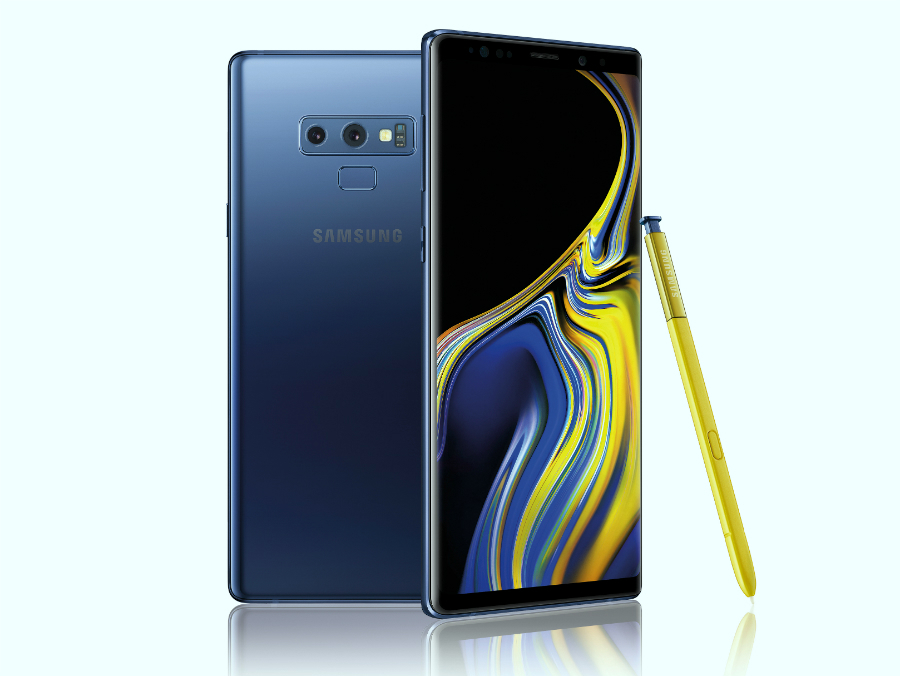 The latest flagship: Samsung Galaxy Note 9