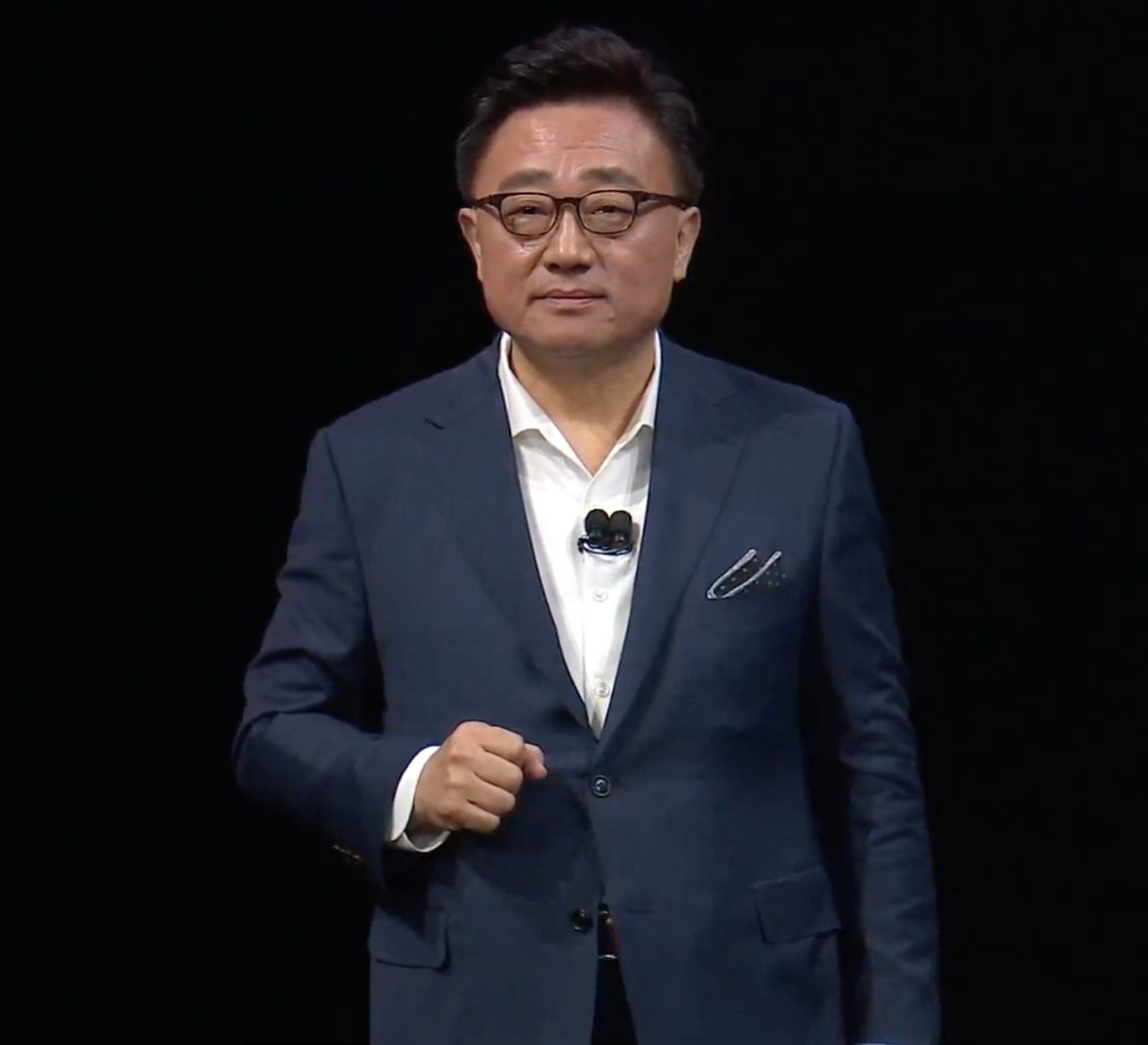 Dj Koh the CEO of Samsung Electronics