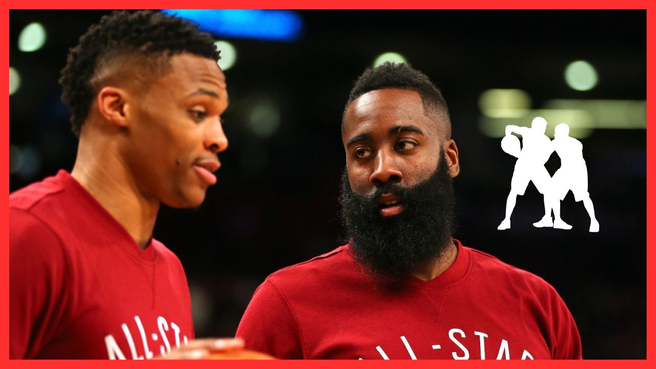 The old duo is back: Russell Westbrook and James Harden