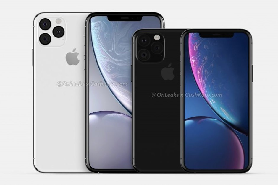 Two of the new Apple iPhones for 2019