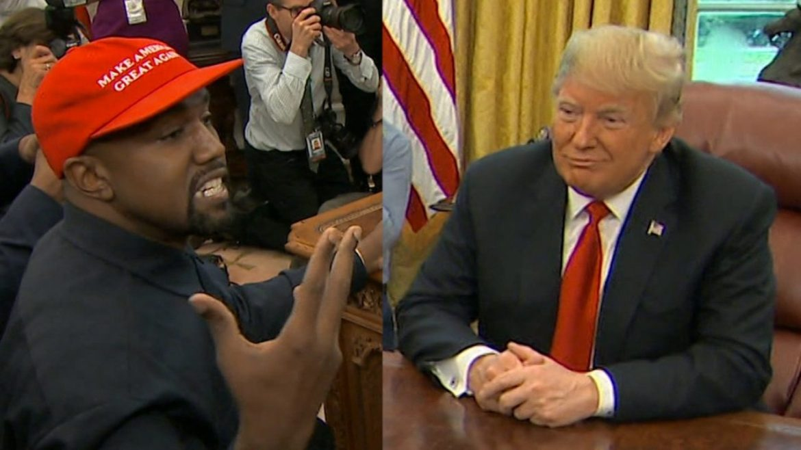 Kanye West and Donald Trump 2020 Elections