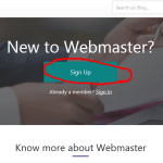 Bing Webmaster Tool Sign Up – How to Create New Bing Account