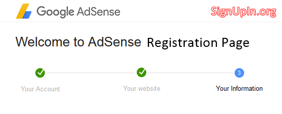 Adsense Registration – How to Sign Up New Google Adsense Account