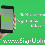 KIK New Account Sign Up / Online Kik messenger Registration / Kit Login – Kik.com