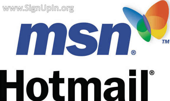 MSN Hotmail Sign Up Email Account