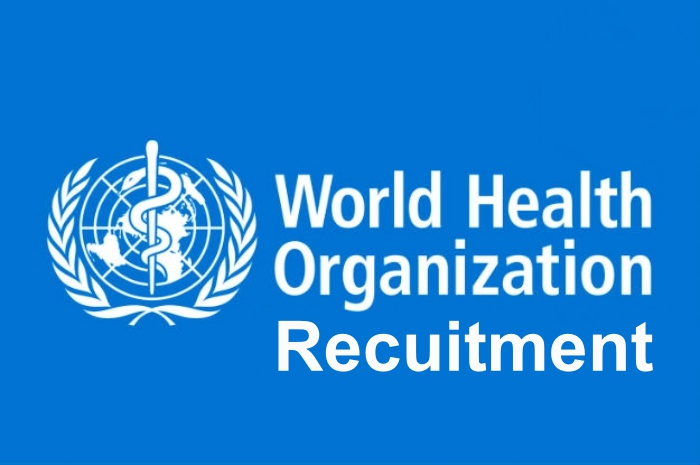Apply for World Health Organization Job Vacancy – WHO Recruitment