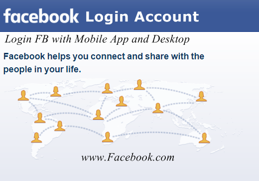 Login Facebook Account page