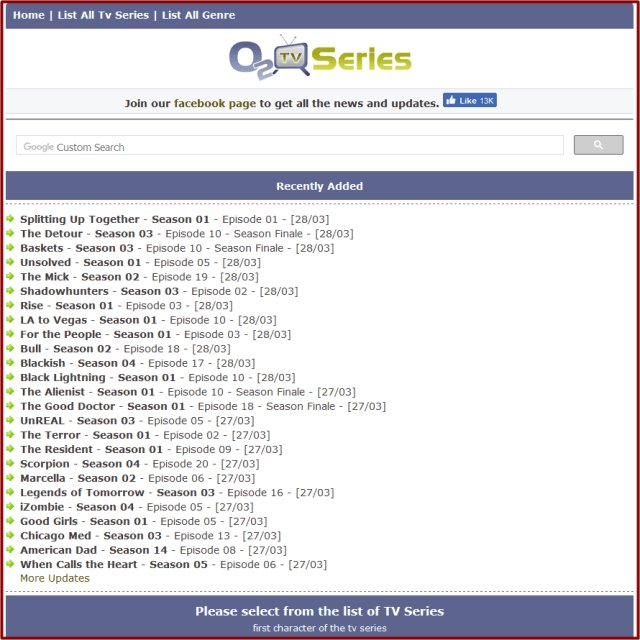 O2Tvseries Full Review | A to Z Free Download TV Series Site