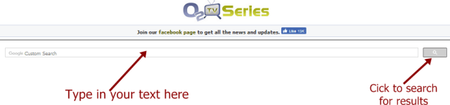 O2Tvseries search