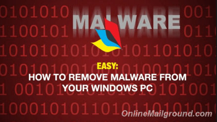 Remove Malware From Your Windows PC