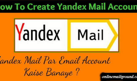 Learn the steps and create a Yandex account