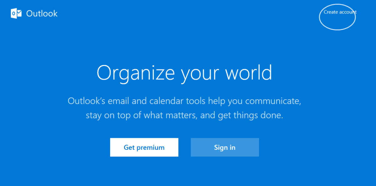 Get started with your new Outlook mail account