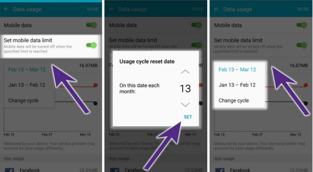 How to Set Limit to Your Monthly Data Usage