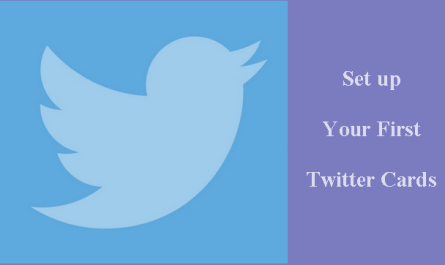 How to Set up Your First Twitter Card