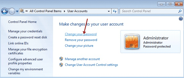 How to Reset and Change Your Windows 7 Password