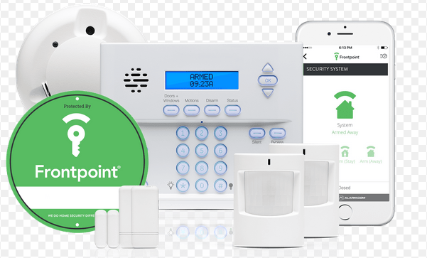 Little Tip on the Frontpoint Security System