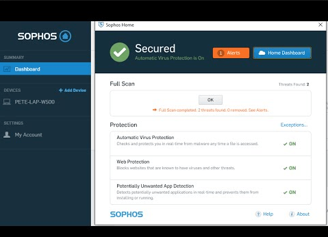 About the Sophos Anti-Virus