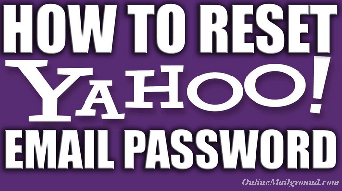 How to Reset Yahoo Mail Password