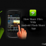 How to use Android Flash Share App | Flash Share File Transfer