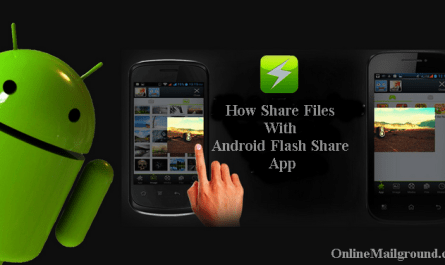 How to Share Files with Android Flash Share App