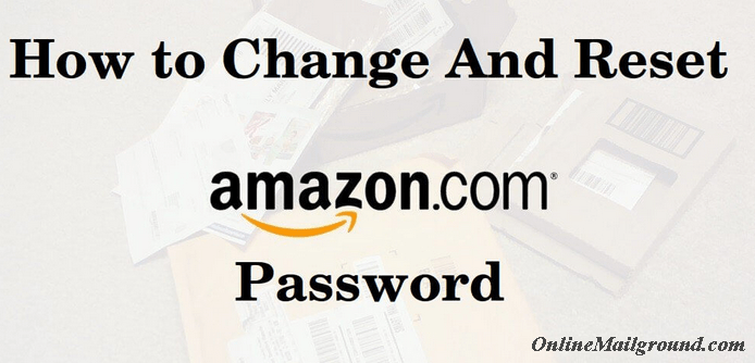 Quickest Way to Reset Amazon Account Password