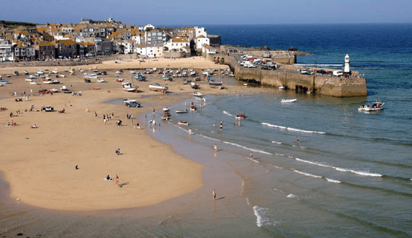 Saint Ives Beach View