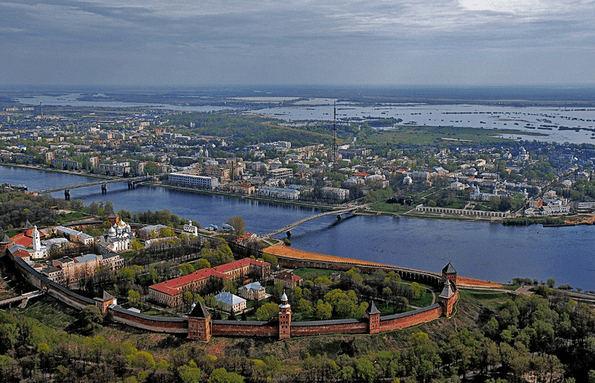 The City of Novgorod.