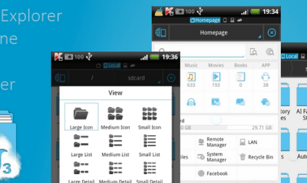 How to Access ES File Explorer.