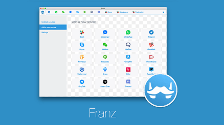 How to Set Up Franz Instant Messaging App.