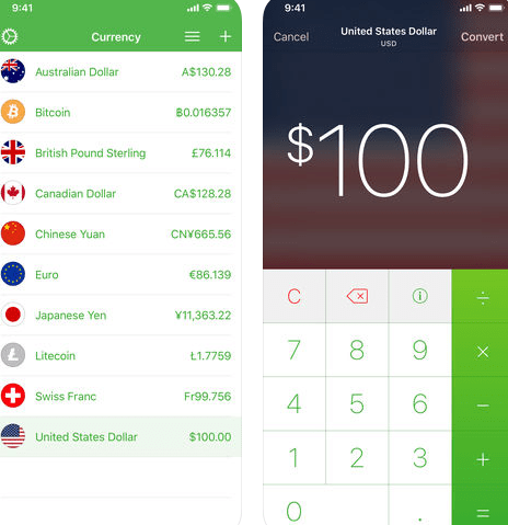 Currency Converter App.
