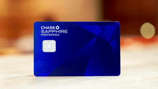 Chase Sapphire Preferred® Credit Card.