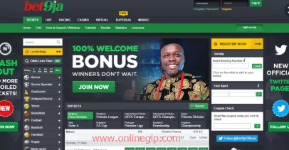 Steps for Bet9ja Account Online Registration.