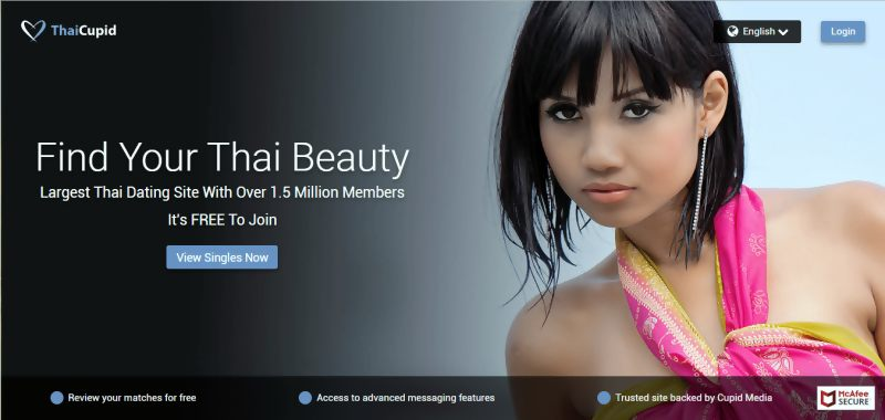 www.thaicupid.com Review: Thai Cupid Registration With Facebook Account