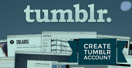 How to Create Tumblr Account | www.Tumblr.com