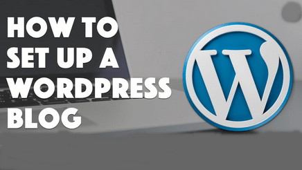 How to Setup Wordpress Blog Account.