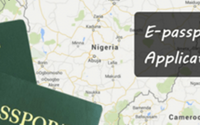 Nigeria E-Passport Application General Procedure
