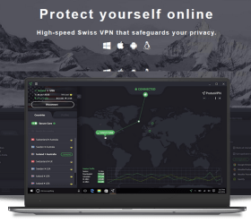 Image of ProtonVPN Page