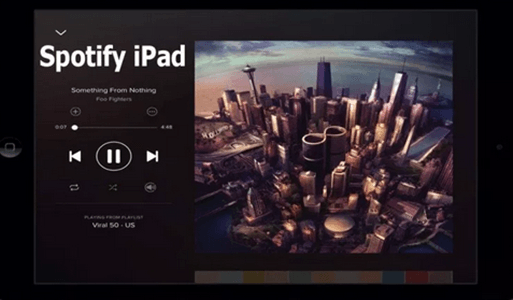 Spotify iPad – Sign Up For Spotify Account