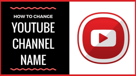 Image: Change YouTube Channel Name